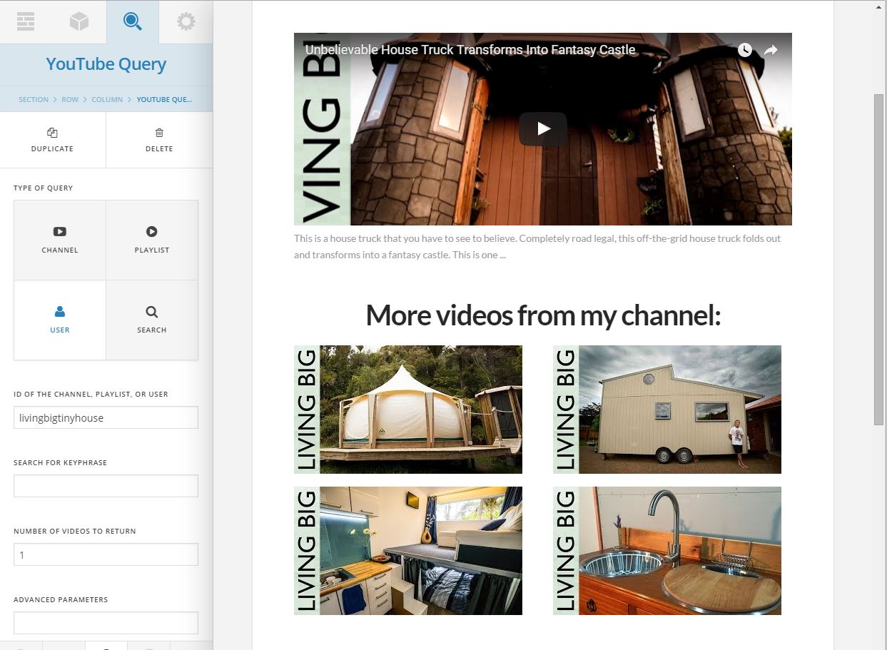 Video Query - YouTube, DailyMotion, Hulu, MixCloud, SoundCloud and Vimeo 5