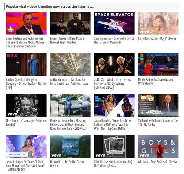 Video Query - YouTube, DailyMotion, Hulu, MixCloud, SoundCloud and Vimeo 2